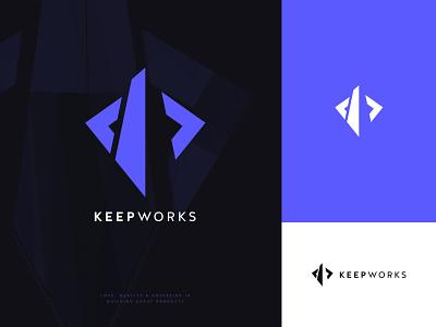 Keepworks Logo identity rebranding branding logo