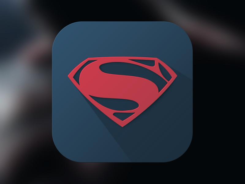 Man of Steel Icon ios7 ios icon man of steel superman hope