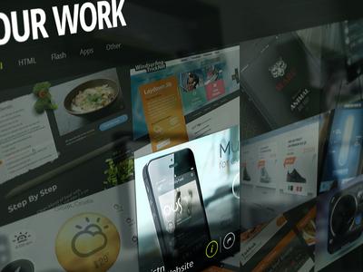 Kreativa 2013 Website - Homepage
