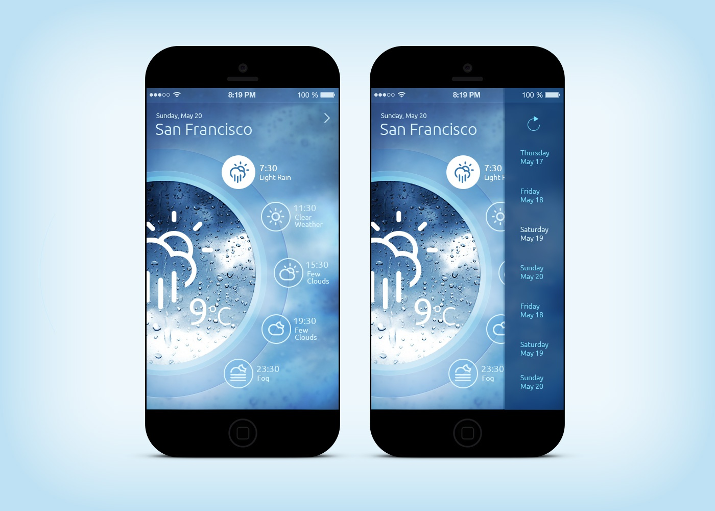 Weather app %28washing machine%29 ios7 full