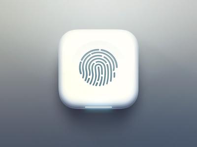 Fingerprint Icon fingerprint ios7 icon app
