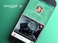 Swagger App - Profile Screen