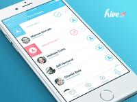 Hive App - Find People