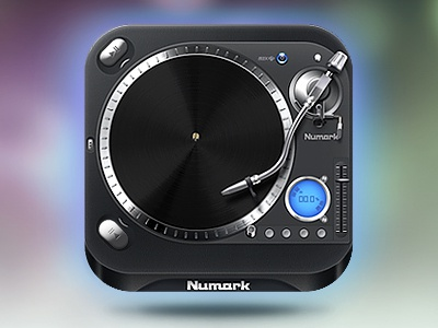 Numark Mixtrack Icon ios illustration numark mixtrack kreativa studio design icon photoshop dj