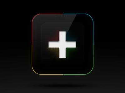 iOS icon Google+ ios icon photoshop google plus illustration kreativa studio design