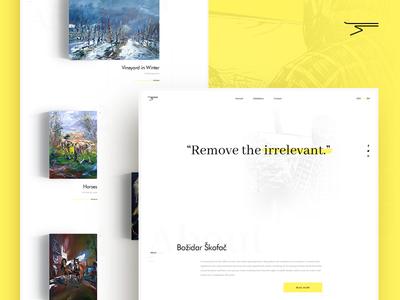 Bozidar Skofac - Artist Homepage oil painting gallery painter artist artwork art homepage web