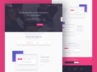 Kandy Developers Landing Page