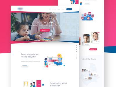 Daycare Center - Homepage website homepage europe daycare babysitting babysitter