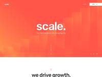Scale homepage v1