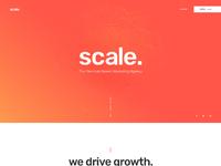 Scale homepage v2