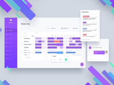 dashX - Resourcing ux ui  ux illustration ui website dashboard design dashboard ui time tracking project management payroll invoice income dashx dashboard resourcing accounting