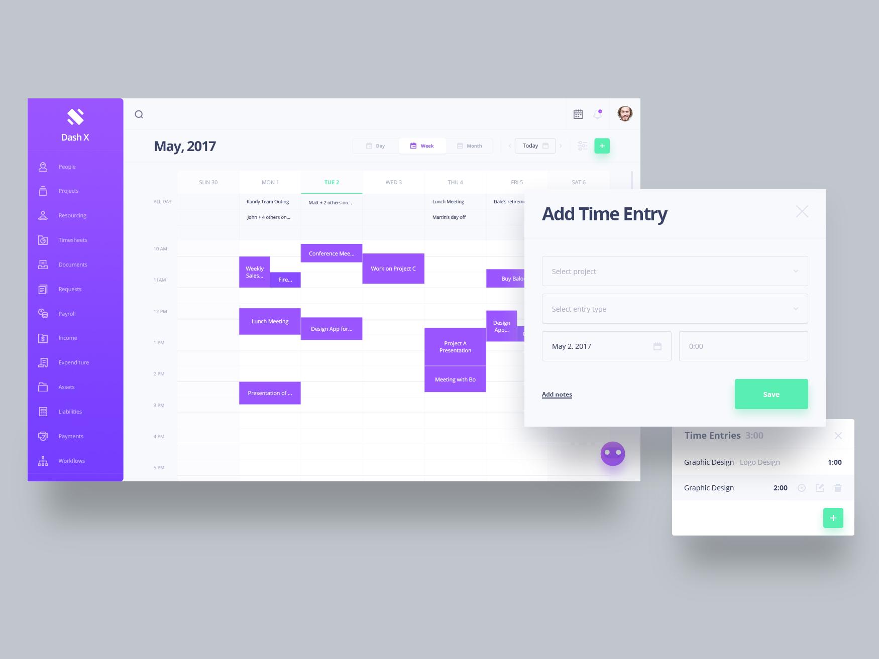 Calendar Booking Ui : Dribbble schedule g by kreativa studio