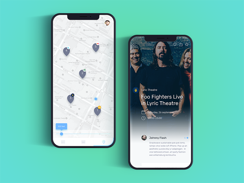 What Now - Events whatnow google now machine learning cards events discounts interests app ios location map