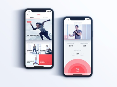 Oyo Fitness - Workouts gym iphone ios app iphonex workout fitness oyo