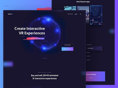 WeAreVR Website
