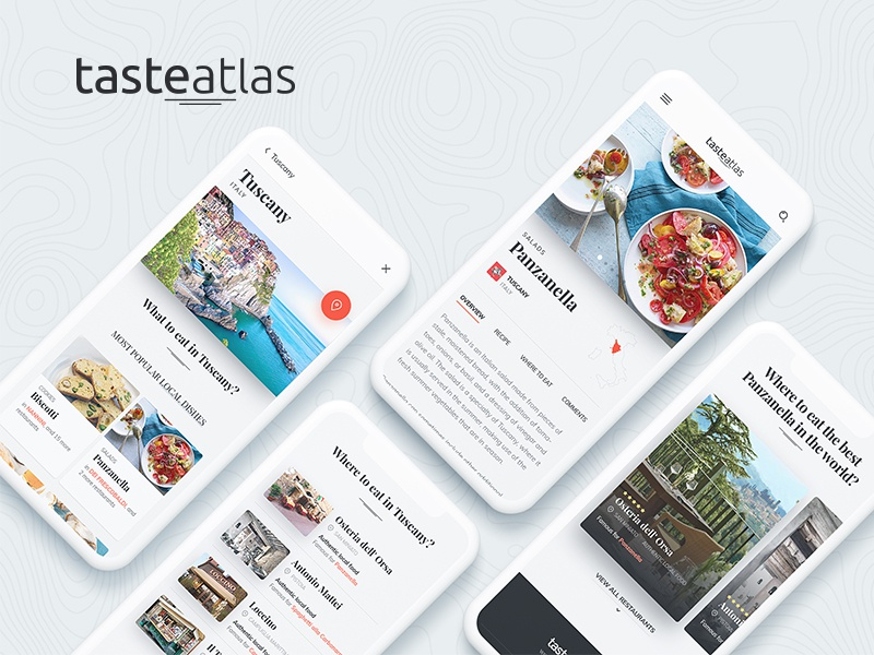 Tasteatlas by KREATIVA Studio