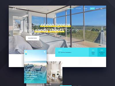 Stay Marquis - Homepage luxury web search vacation properties rentals rental landing page homepage marquis ui ux website