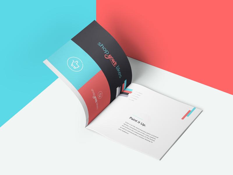 ShopYourLikes Brand Guide brand guidelines logotype social influencers instagram like shop brand guide logo identity branding brand audience