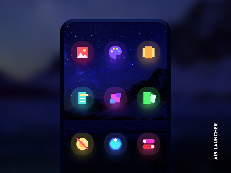 Air Launcher Icons icon set icons icon launcher android