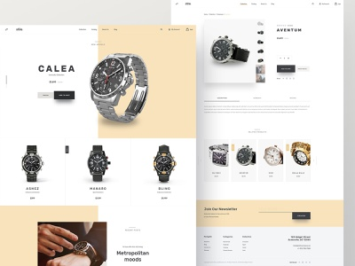 Stile Theme Variation stile ecommerce theme watches store bootstrap product page homepage bigcommerce
