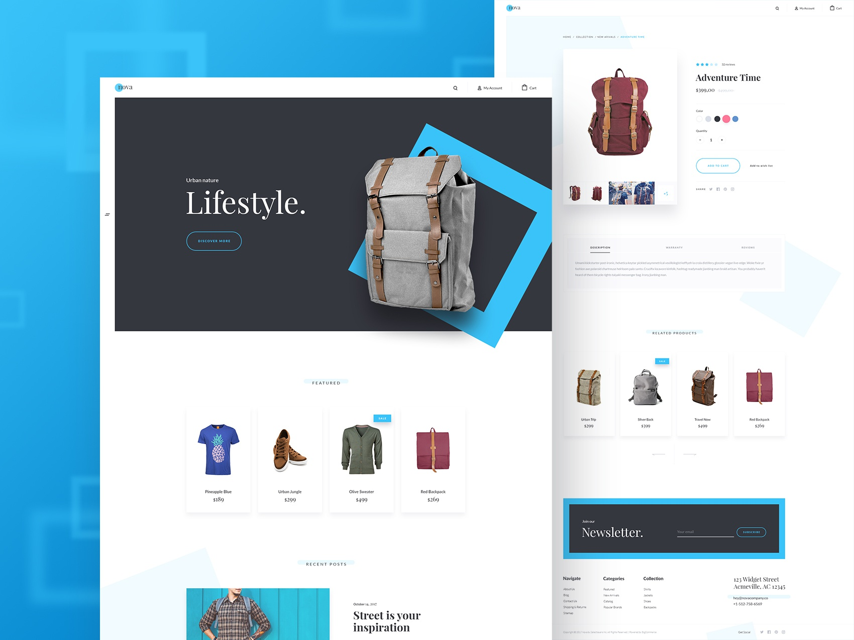 01 homepage product details