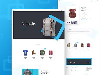 Nova Theme Variation 2 bags nova store shop product page theme homepage ecommerce bootstrap bigcommerce