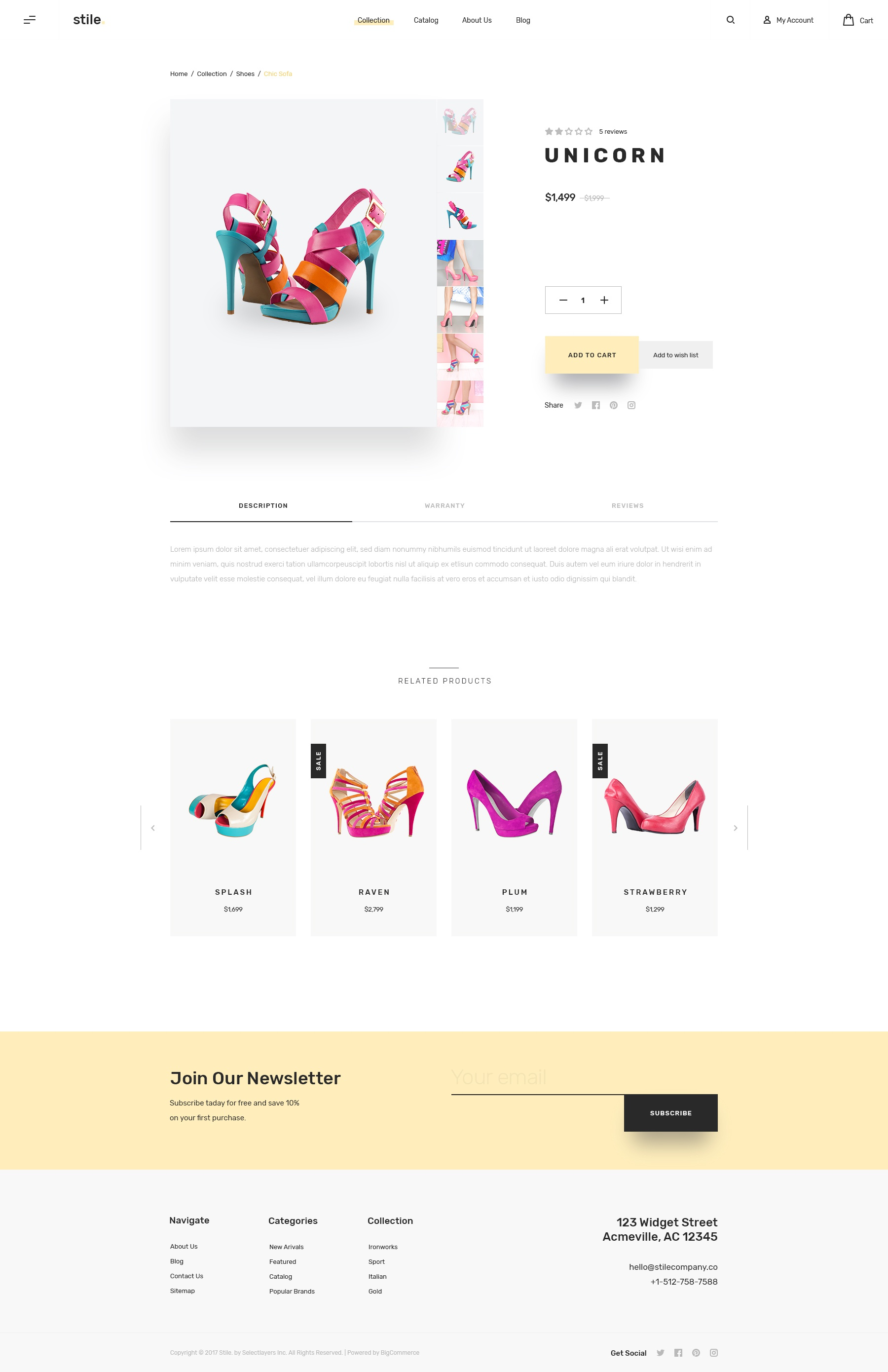Stile product details v4