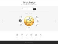 Simple meteo big