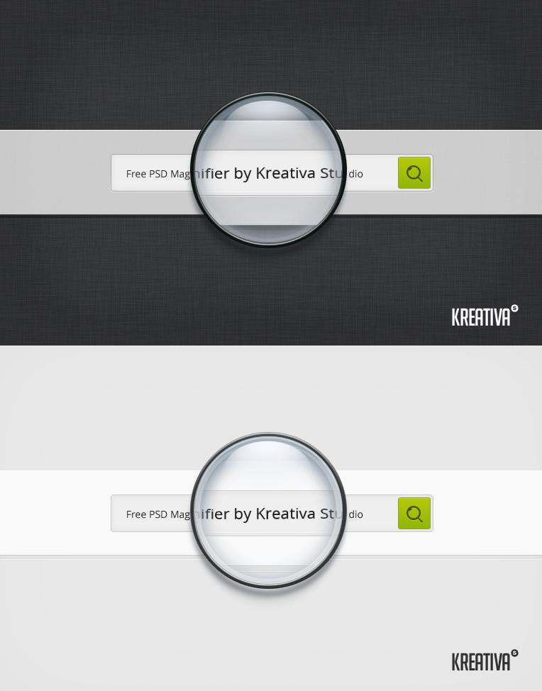 Kreativa studio magnifier