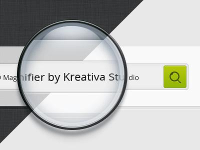 Magnifier free PSD  free psd illustration magnifier photoshop kreativa studio