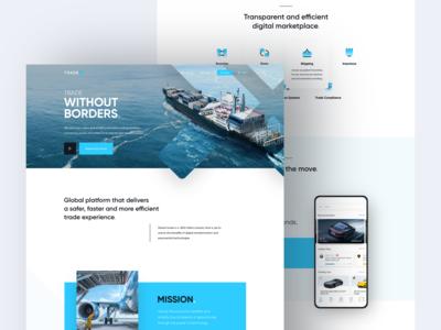 TradeX website v1