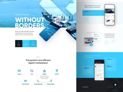 Tradex website v2