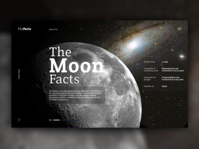 The Moon Facts by Alyona Serdiuk