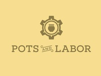 Pots & Labor logo second option