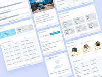 Dashboard Modules product design design ui modules dashboad