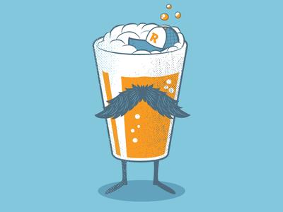 Beer Self Portrait