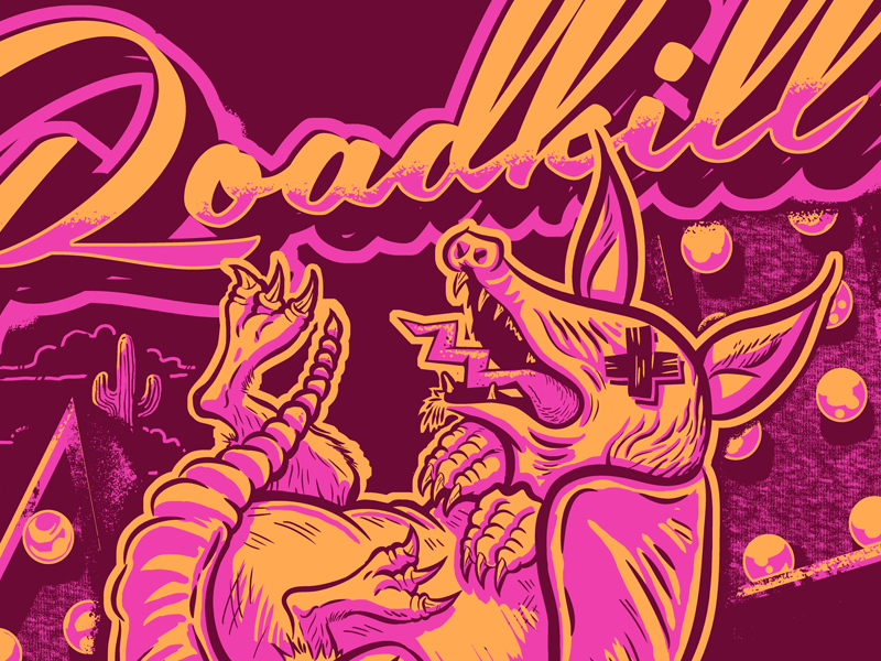 Roadkill Armadillo roadkill armadillo apparel tee shirt