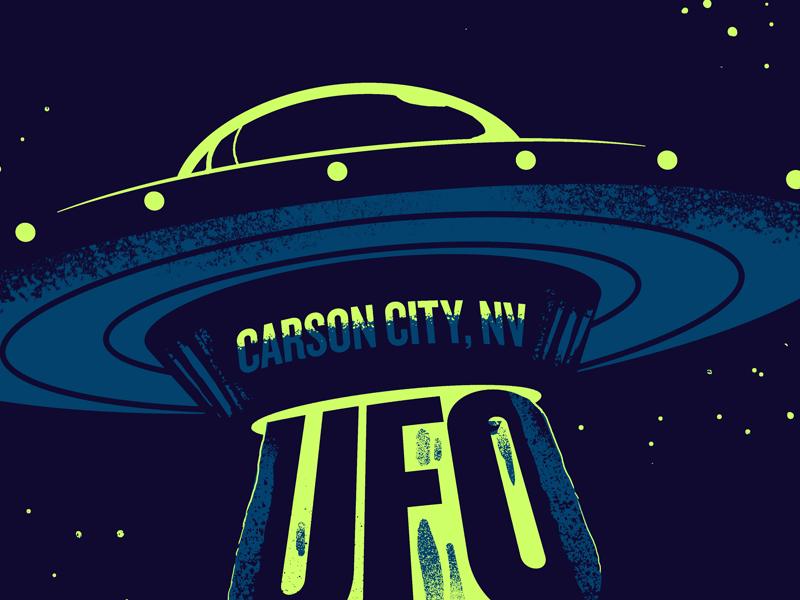 UFO Waffle Warehouse aliens ufo tee shirts