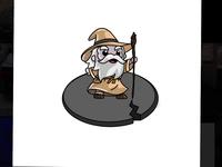 #Drawing ✏️ - Gandalf