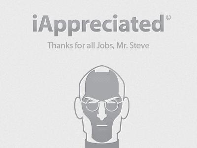 iAppreciated thanks farewell steve jobs icon design