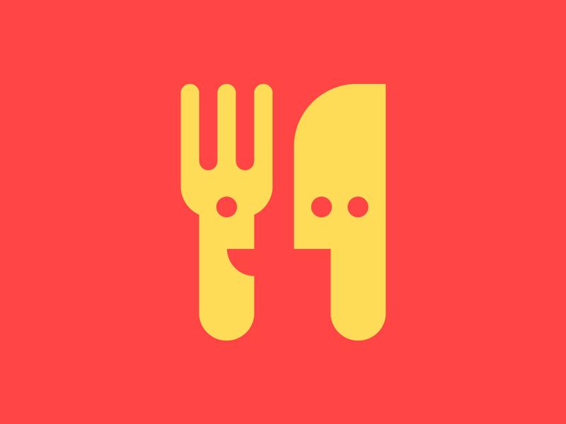 IULM's Foodie Icon youth group snack bar food icon illustration illustrator branding vector logo visual design