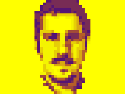 8bit Me self portrait 8bit art 8bitart 8bits 8bit vector illustration visual design