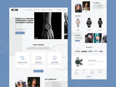 Bow Watch Website   UX/UI Design