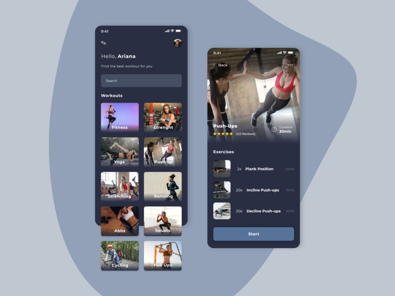 Workout Mobile App