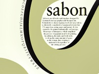 Sabon Typography Poster
