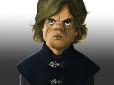 Caricature of Tyrion Lannister