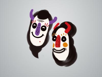 Hora Masks