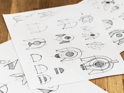 Deventure Logo Sketch