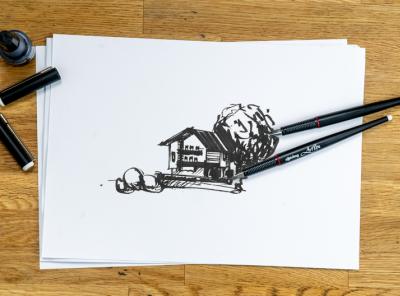 Gasthof Tirol Sketch