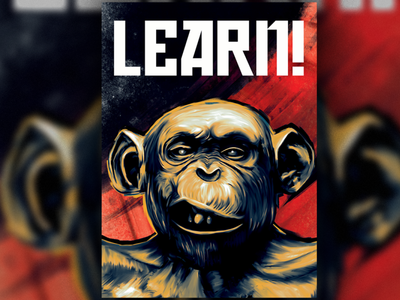 Learn poster